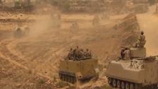 سيناء.. ضبط شاحنة تنقل مواد لتصنيع المتفجرات