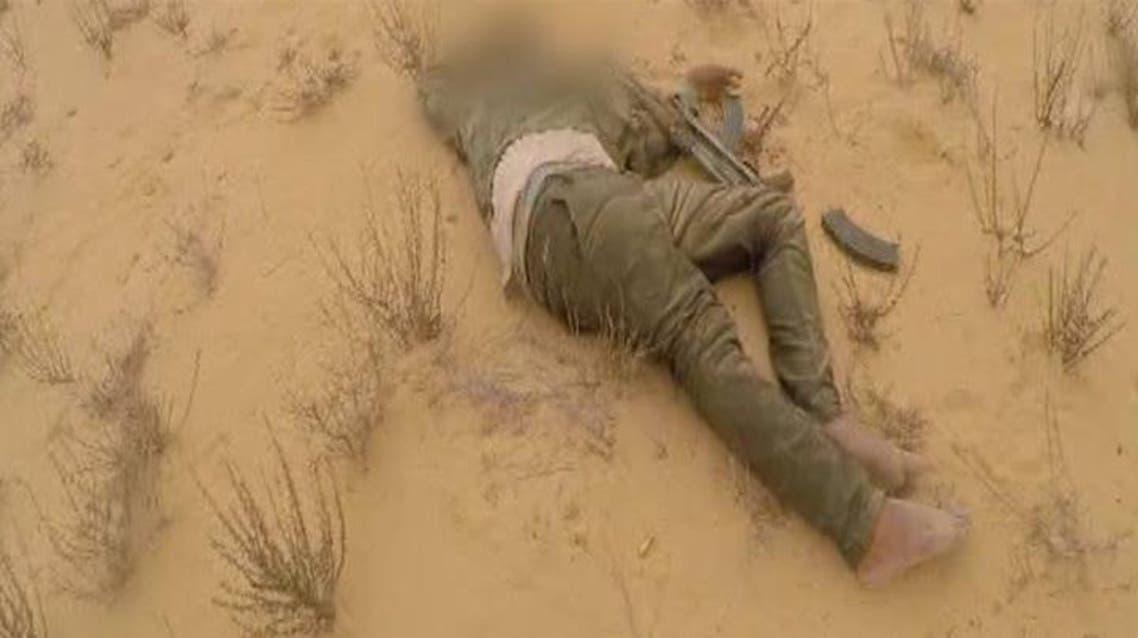 الجيش المصري يقتل ارهابيين في سيناء