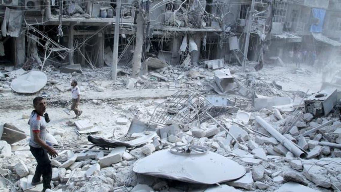 حي الشعار حلب دمار