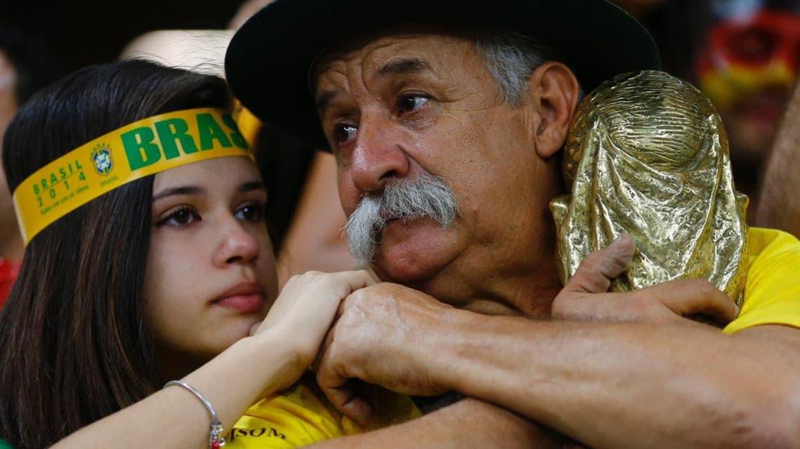 مشجع برازيلي جمهور البرازيل
