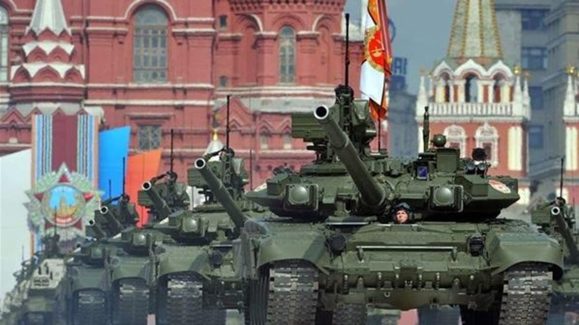 روسيا - عرض عسكري