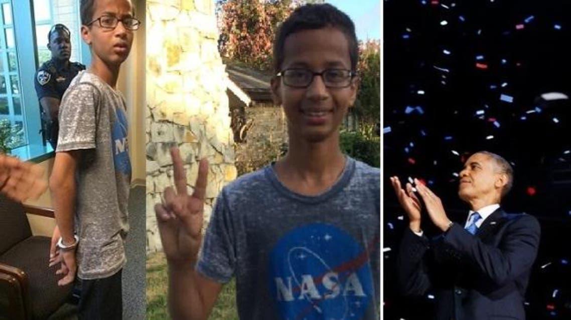 اعتقلوه وفصلته المدرسة 3 أيام، وانتصر له أوباما ومشاهير أميركا
