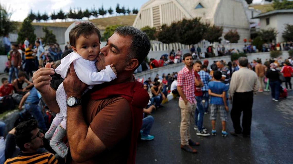 From Turkey, tens of thousands of refugees try to reach Europe by attempting the short sea crossing to Greece, though many have drowned on the way. REUTERS