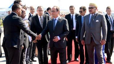 هولاند في المغرب.. شراكة اقتصادية وتعاون ضد الإرهاب