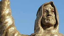 Giant statue of UAE founder Sheikh Zayed stands in Cairo suburb
