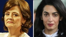 Amal Clooney clashes with Cherie Blair over Maldives