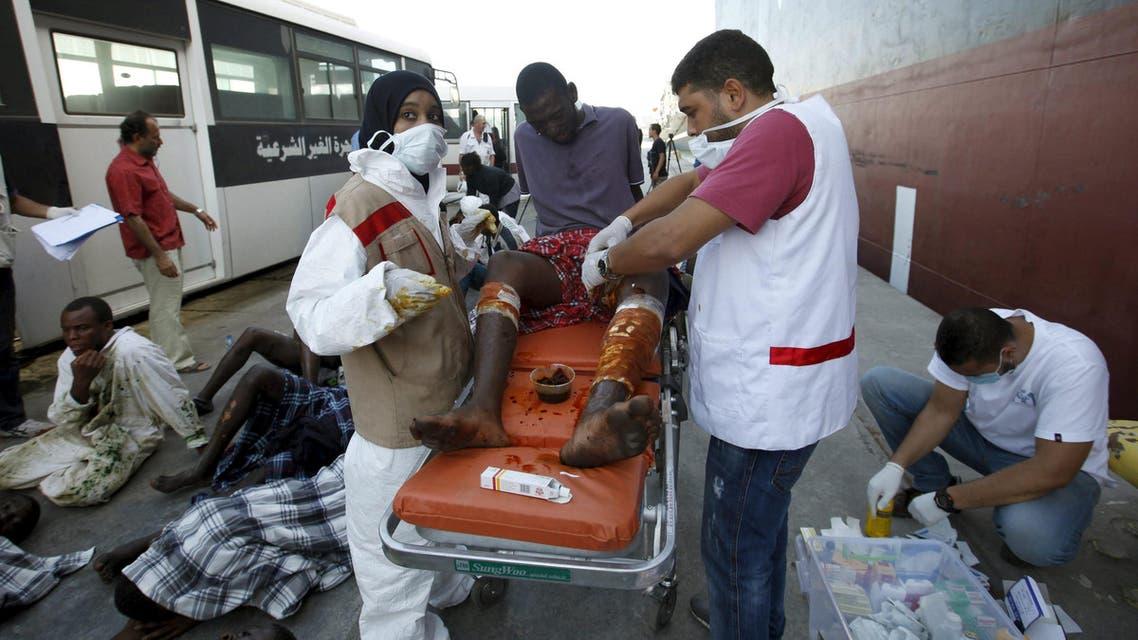ليبيا مهاجرين لاجئين لجوء هجرة