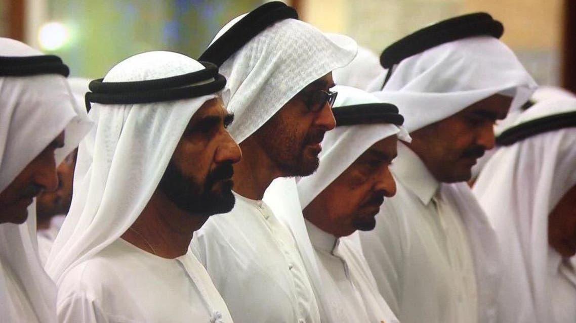تشييع الشيخ راشد بن محمد المكتوم
