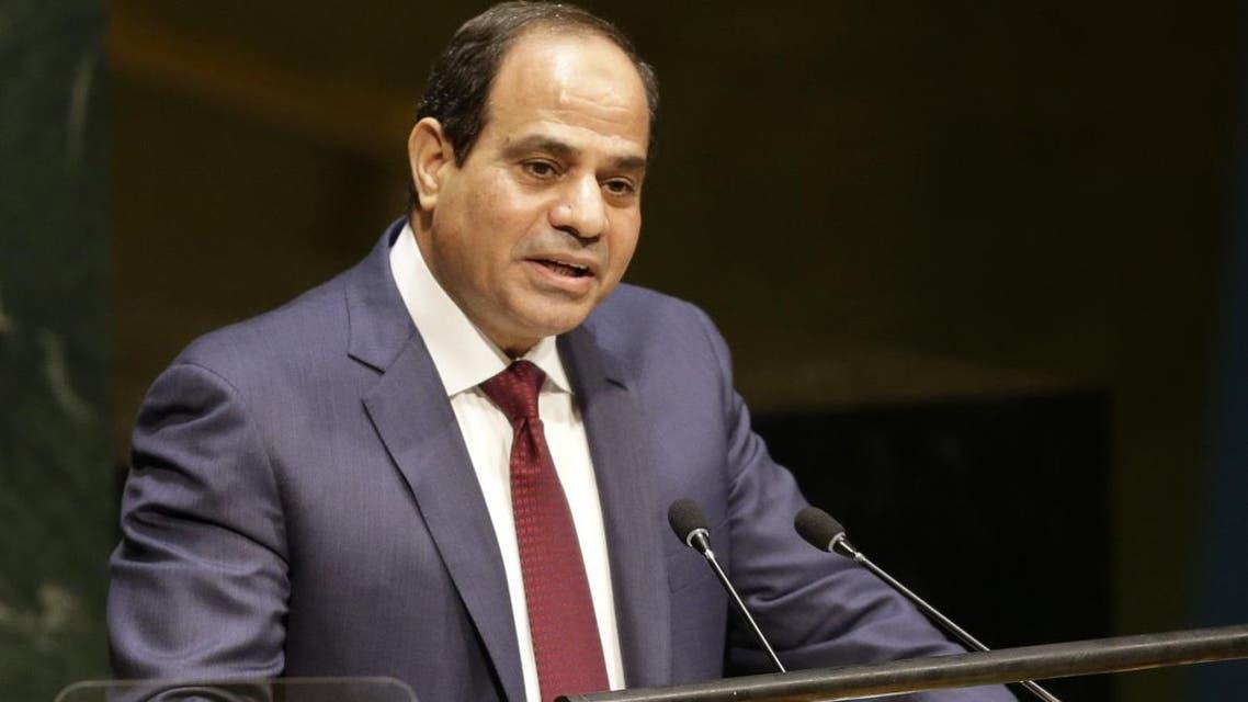 Abdel Fattah Al Sisi, President of Egypt ap