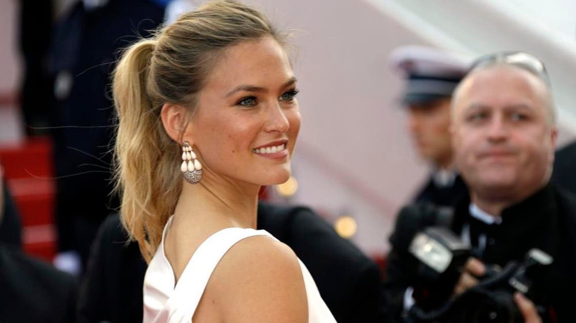 Bar Refaeli arrives for the opening ceremony and the screening of the film La Tete Haute (Standing Tall) at the 68th international film festival, Cannes, southern France, Wednesday, May 13, 2015. AP