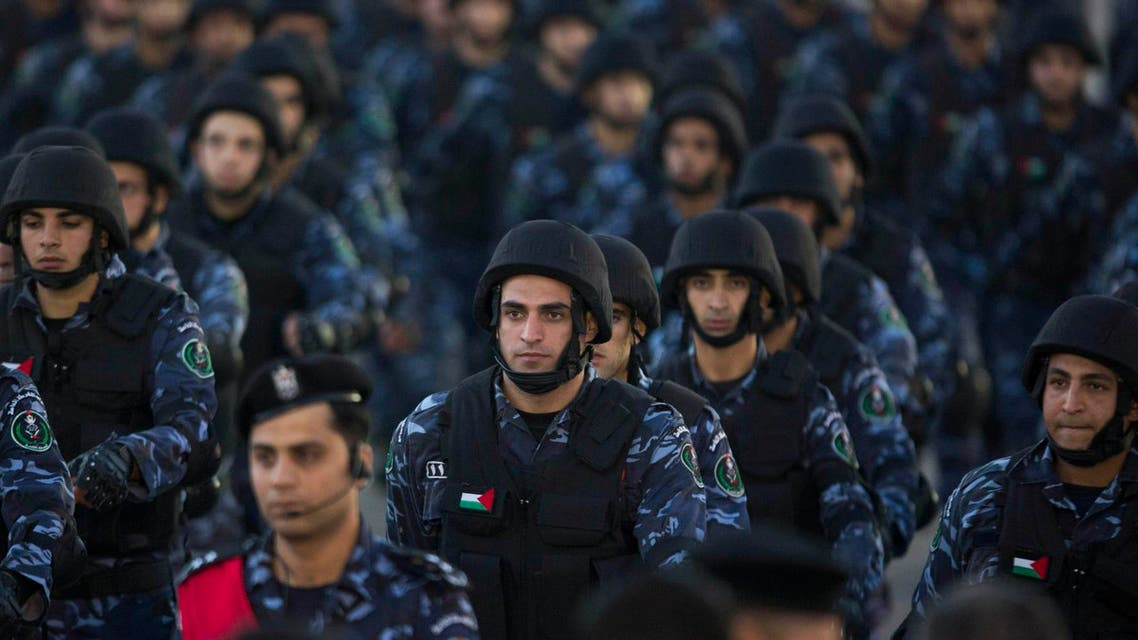 Palestinian security forces have limited powers in the West Bank but are often tasked with holding protesters at bay. (File: AP)