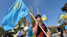 Crimea Tatars block peninsula to protest Russian annexation