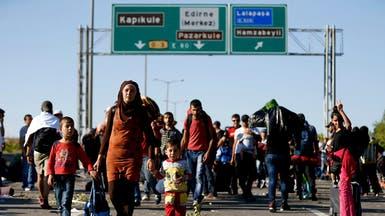 مئات اللاجئين في أدرنة يتفرقون تلبية لدعوة أوغلو
