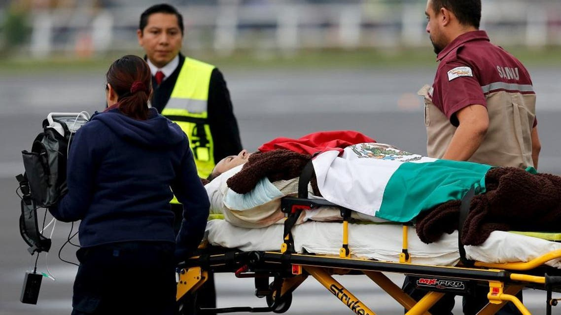 Mexican Foreign Minister Claudia Ruiz Massieu accompanied six tourists wounded in the attack back to Mexico City on Friday. (File: Reuters)