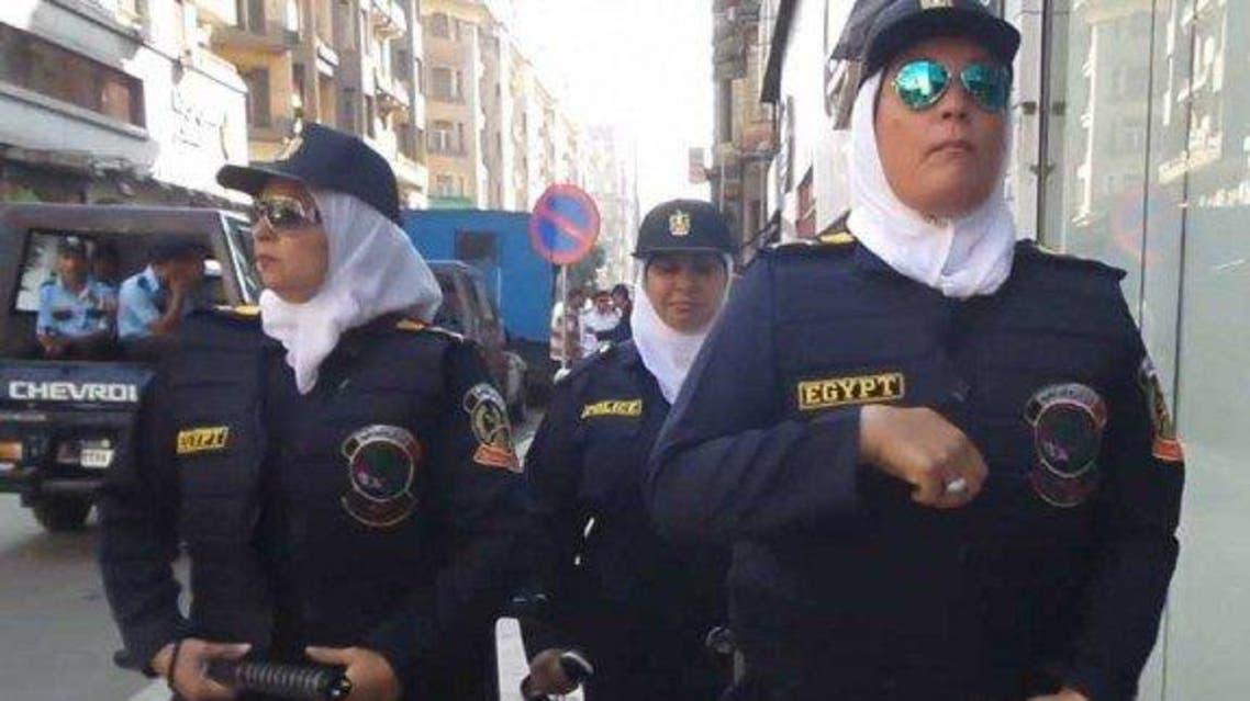 الشرطة النسائية في مصر