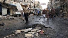 حلب میں شامی فوج کا میزائل حملہ، 18 افراد ہلاک