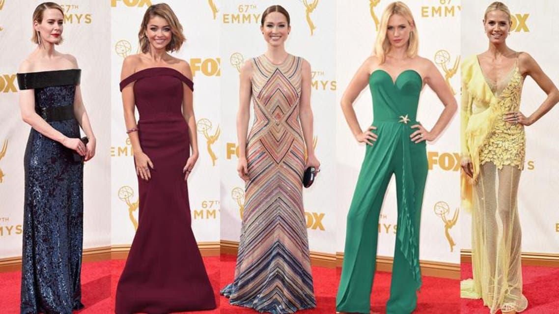 الأكثر أناقة في حفل Emmy's