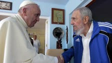Pope meets with Cuba's Castros but misses out on dissidents