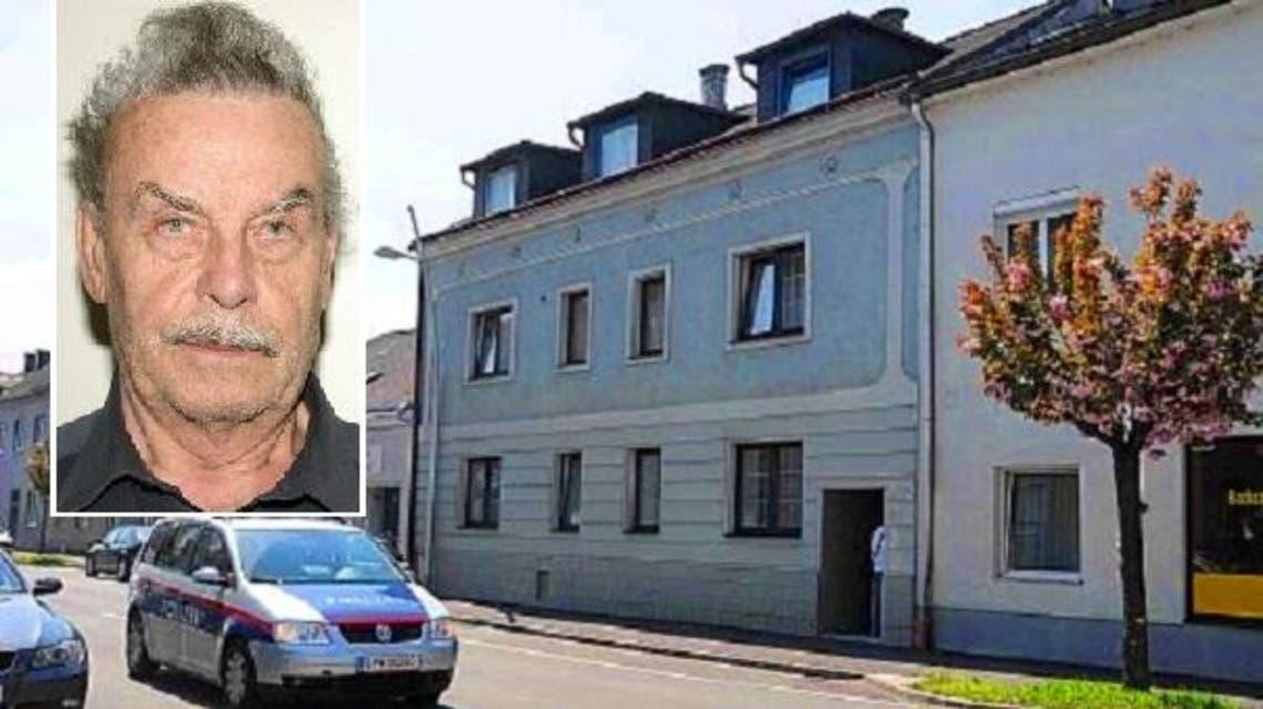 فريتزل والبيت الذي اغتصب ابنته فيه طوال 24 سنة