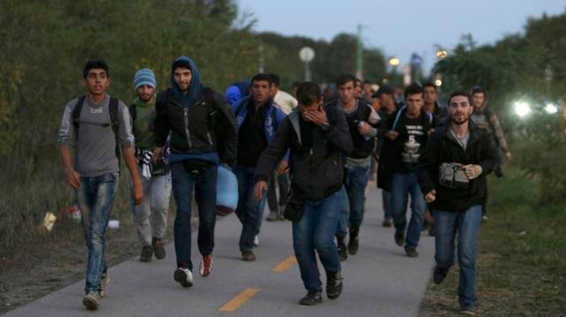 المجر النمسا مهاجر