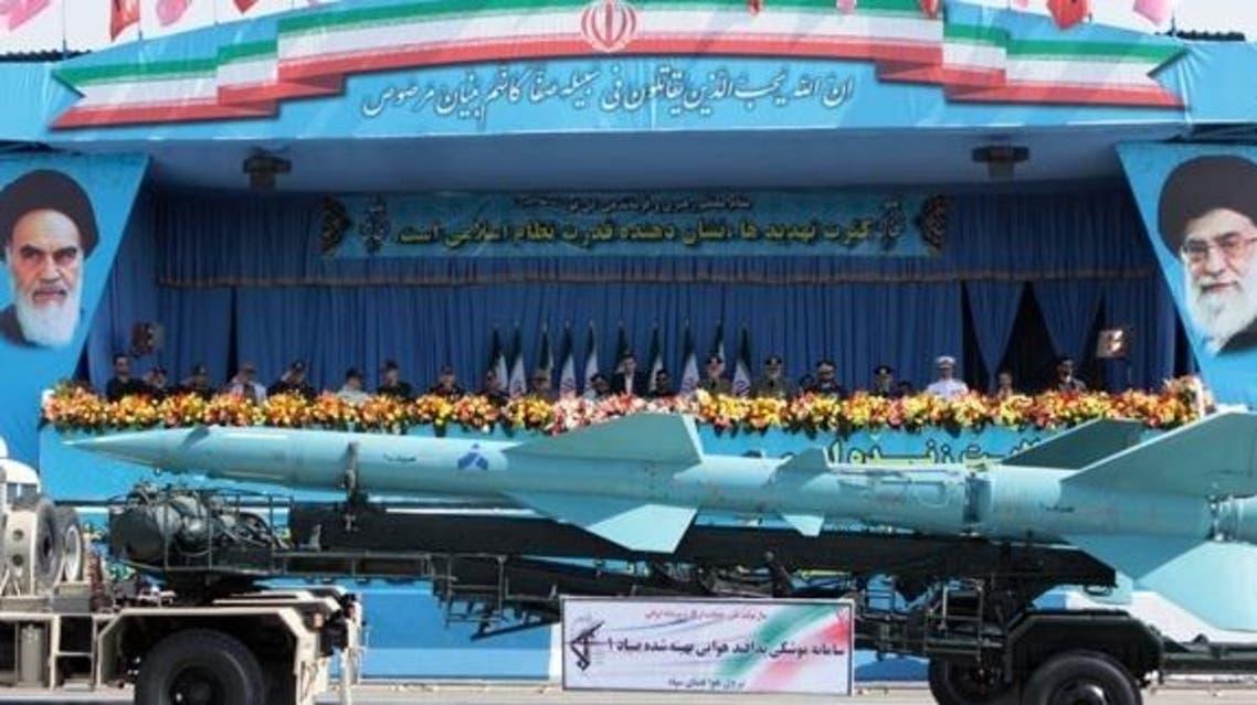 صواريخ باليستية إيران