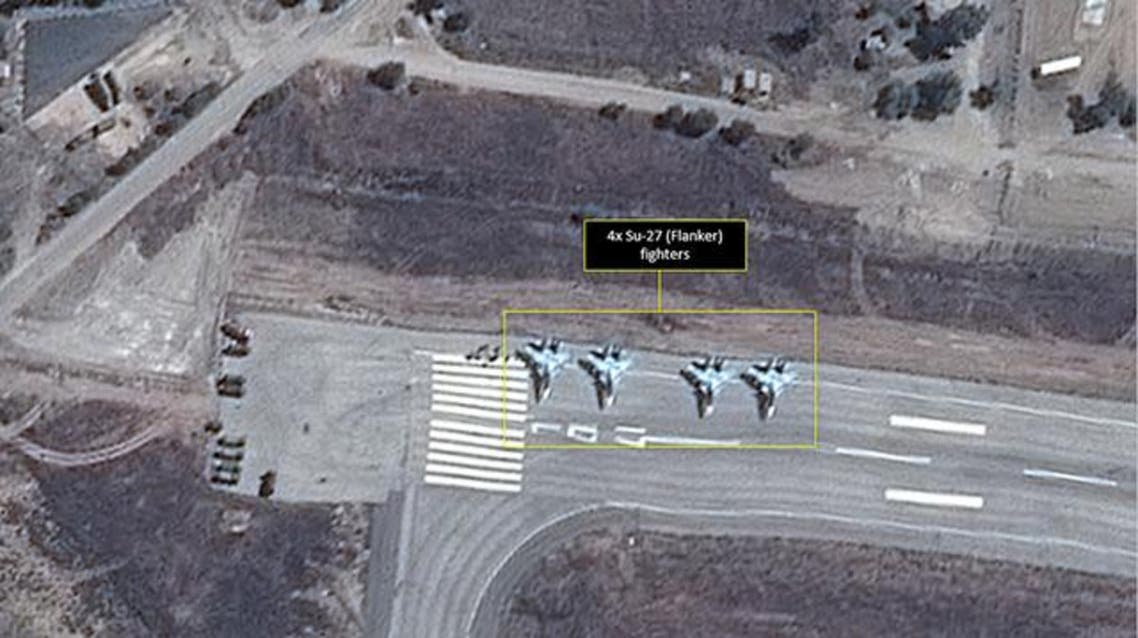 مقاتلات روسية في سوريا 3