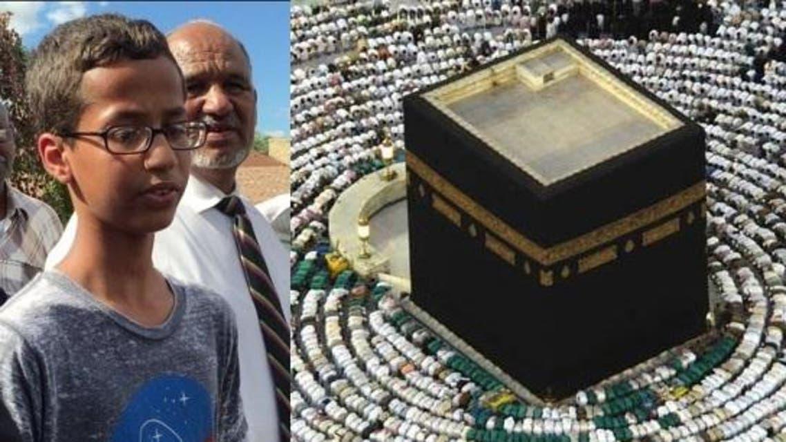 أحمد محمد مع والده محمد أحمد الحسين