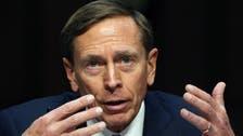 Ex-CIA chief Petraeus calls for more U.S. action in Syria