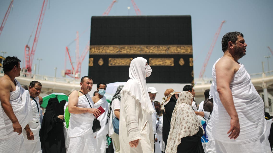 Muslim pilgrims circle the Kaaba, the cubic building at the Grand Mosque in the Muslim holy city of Mecca, Saudi Arabia, Tuesday, Sept. 22, 2015.  AP