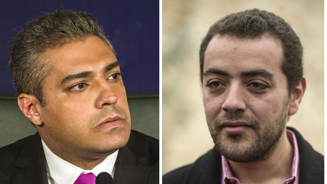 - A combination of file pictures made on September 23, 2015 shows Al-Jazeera's Egyptian producer Baher Mohamed (R) and Al-Jazeera's Egyptian-Canadian reporter Mohamed Fahmy. Egypt's President Abdel Fattah al-Sisi on September 23, 2015 pardoned the jailed Canadian journalist with Al-Jazeera television, Mohamed Fahmy, and his colleague Baher Mohamed, along with 100 prisoners, the presidency and official media reported. AFP PHOTO / KHALED DESOUKI