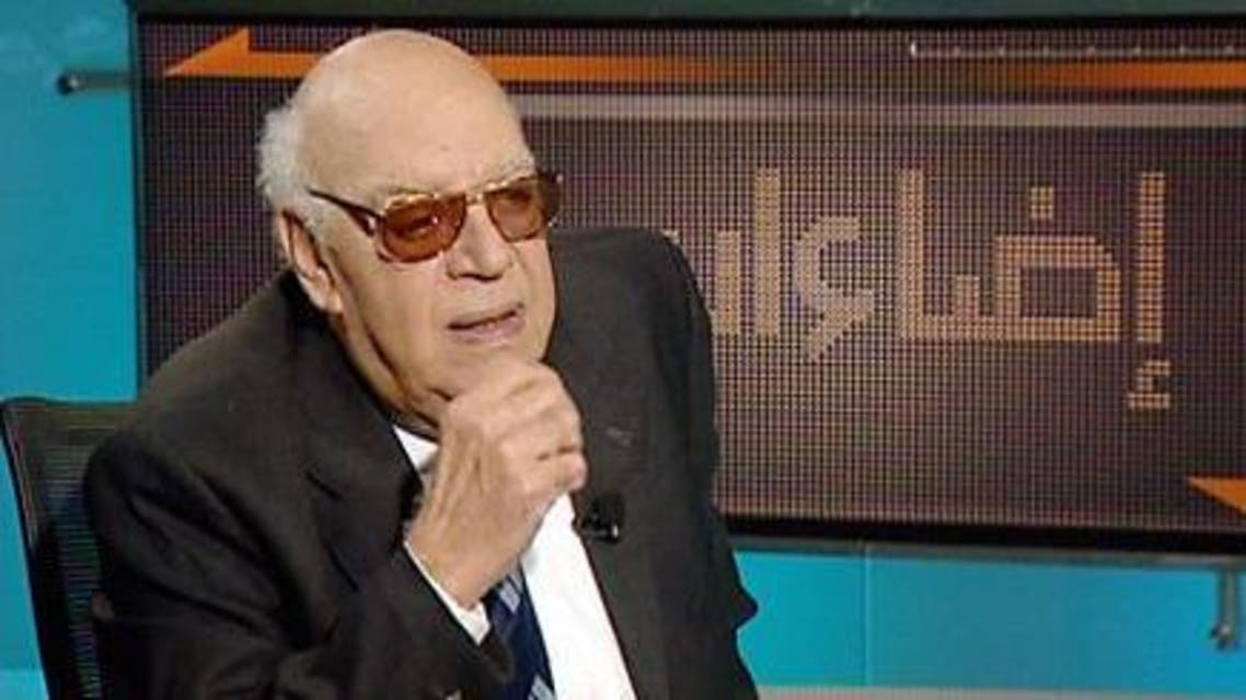 In later years Salem spoke in support of the protest movements against former President Husni Mubarak. (Al Arabiya)
