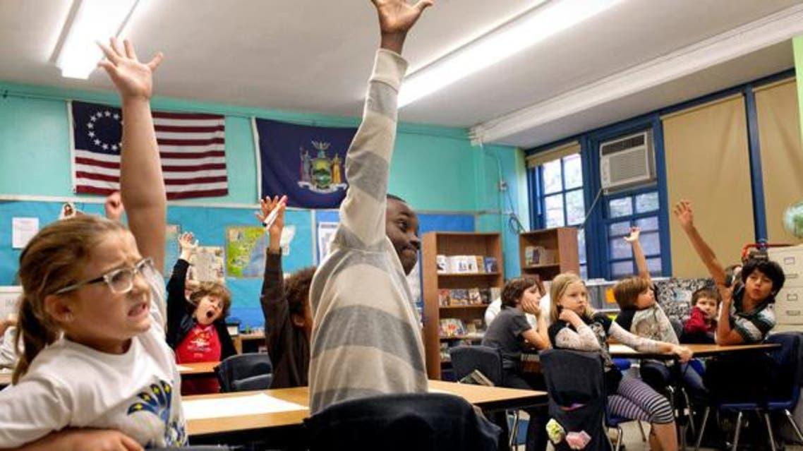 طلاب مدرسة في نيويورك