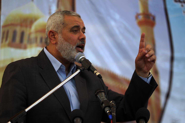 هنية رئيس فرع الحركة في غزة سابقاً
