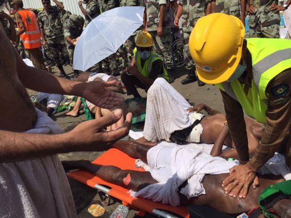 وفاة 717 حاجاً وإصابة 863 في حادثة #تدافع_منى