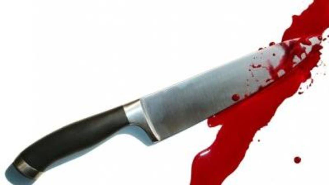 سكين جريمة دماء