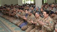 جنرل راحیل شریف کی خیبرایجنسی میں فوجی جوانوں کے ساتھ عید
