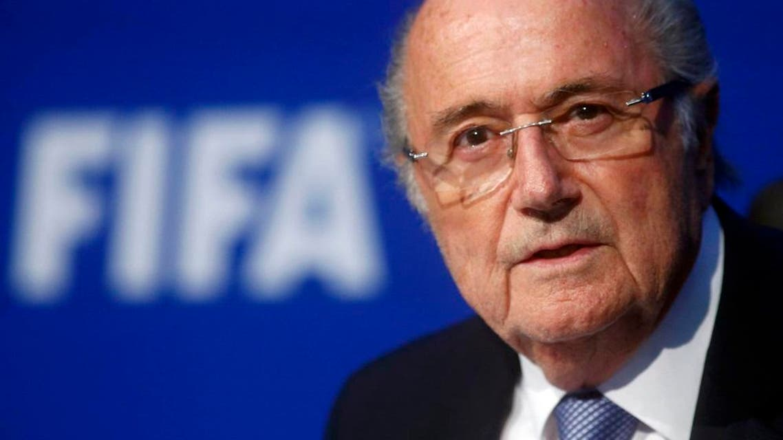 FIFA President Sepp Blatter speaks during a news conference after the Extraordinary FIFA Executive Committee Meeting at the FIFA headquarters in Zurich, Switzerland, in this July 20, 2015 file photo. Swiss prosecutors have opened a criminal investigation into Joseph Blatter, the head of world soccer body FIFA, on suspicion of criminal mismanagement and misappropriation, the Swiss attorney general's office (OAG) said on Friday. REUTERS/Arnd Wiegmann/Files