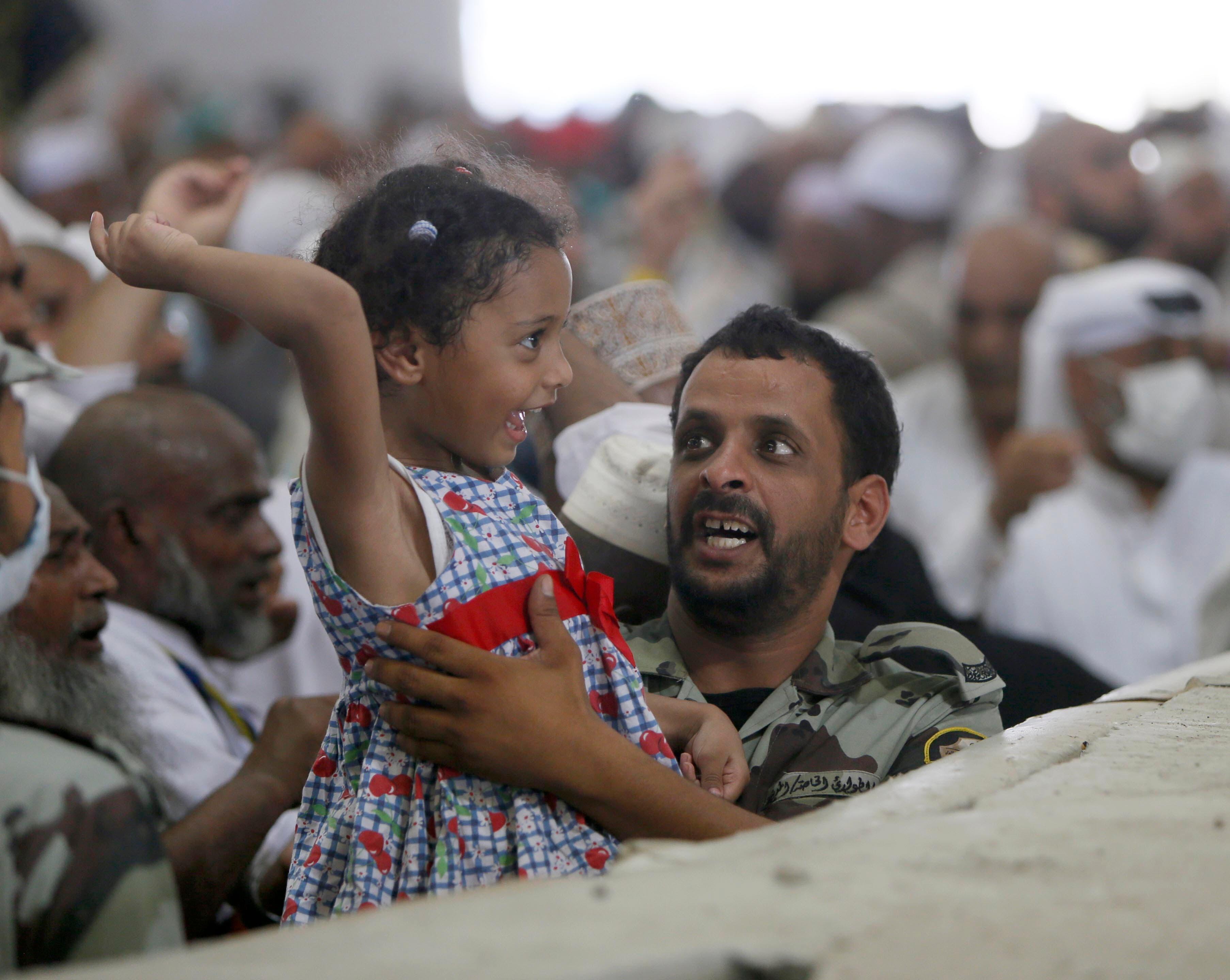 حضور نیروهای ویژه سعودی در جمرات برای کمک به حجاج
