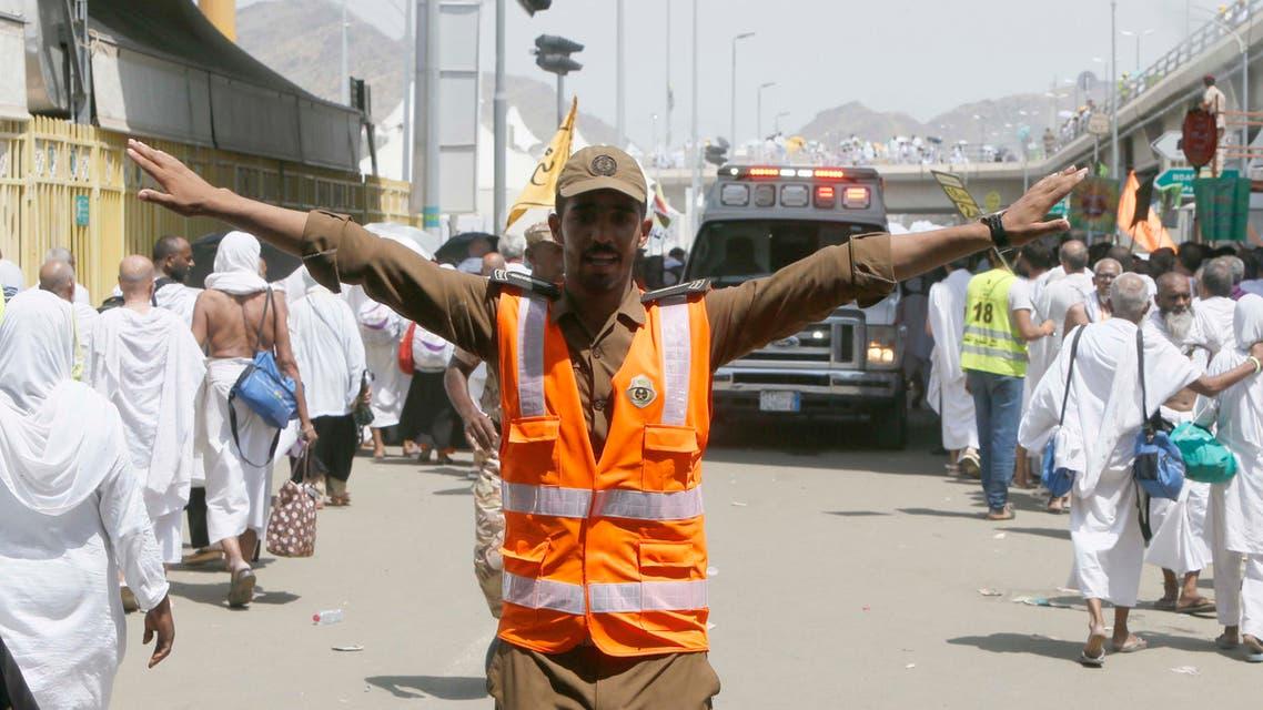 Hajj stampede saudi civil defense (Essa Al-Dobisi/Al Arabiya)
