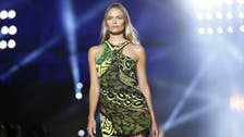 Versace launches camo-glam looks for next summer