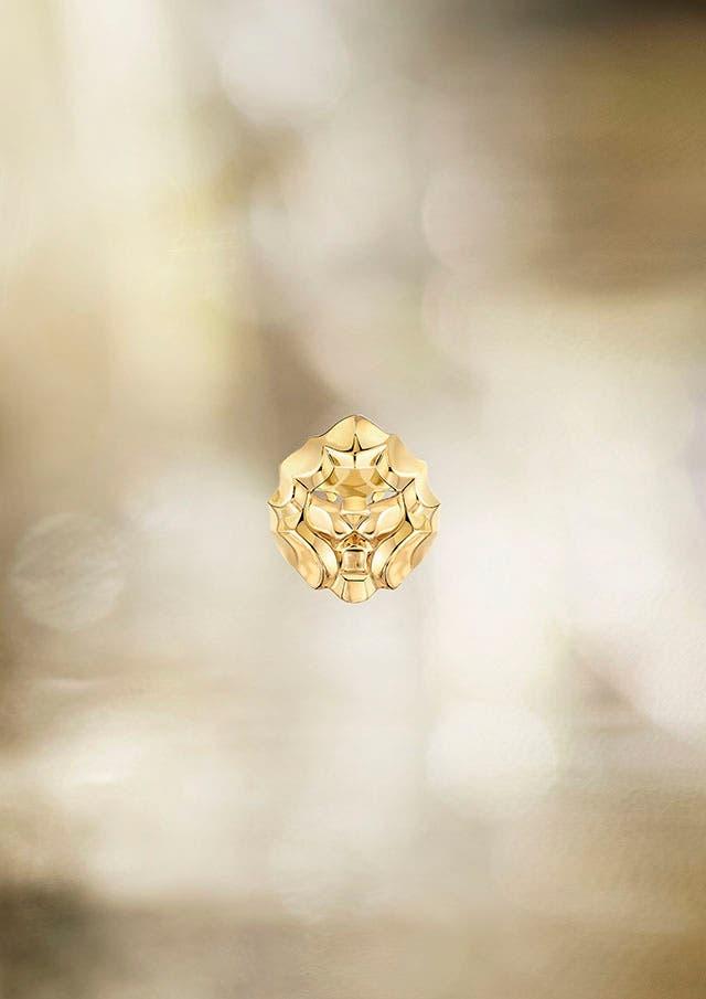 Lion Pépite ring YG