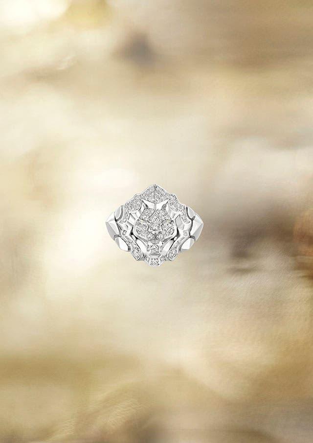 Lion Pépite ring WG LG