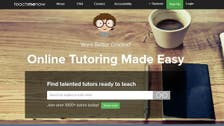 Dubai-based site 'Teach Me Now' boosts online tutoring