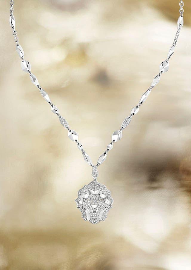 Lion Pépite necklace WG