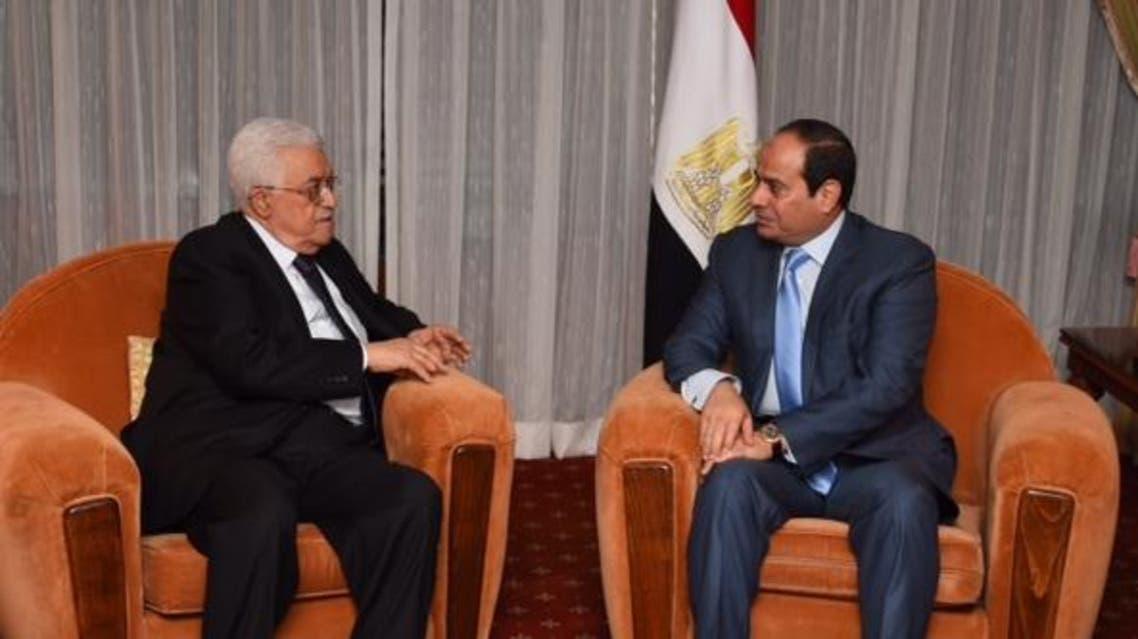 السيسي و عباس