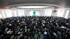 Blaze at giant London Mosque