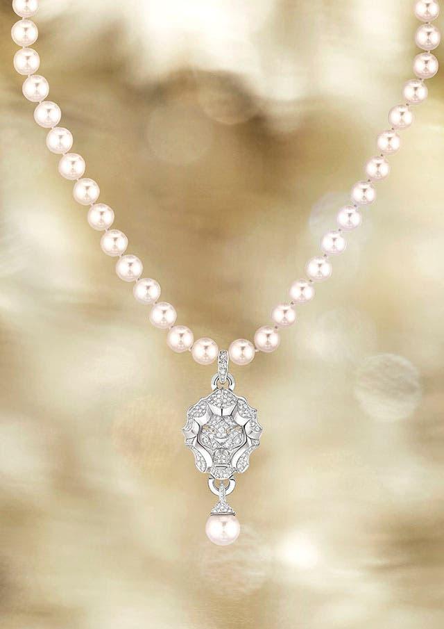 Lion Pépite Perles necklace
