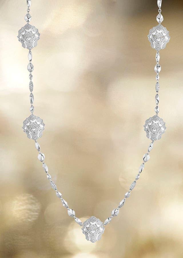 Lion Pépite necklace LG WG