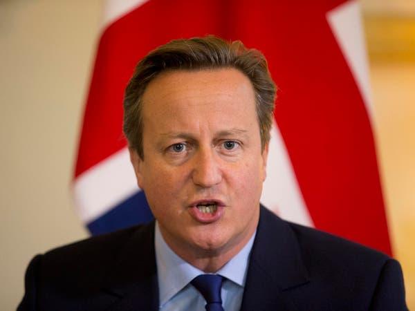 كاميرون: بقاء الأسد في السلطة ممكن لفترة انتقالية