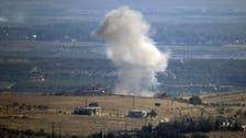 الجيش الإسرائيلي يقصف موقعين لقوات النظام في الجولان